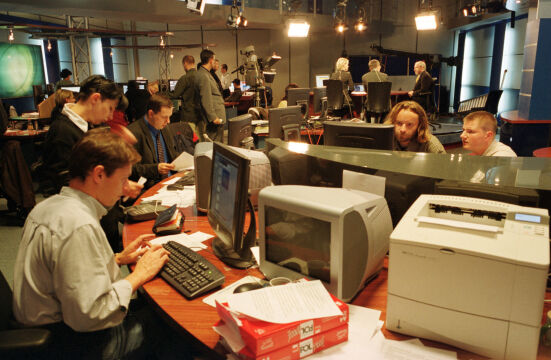 11.09.2001, TVN Fakty, dzień ataków terrorystycznych w Stanach Zjednoczonych