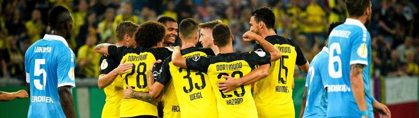 Borussia wymęczyła awans z trzecioligowcem