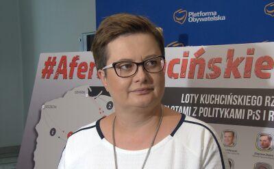 Katarzyna Lubnauer o zapowiedzi dymisji marszałka Kuchcińskiego
