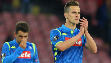 Napoli wstrzymało rozmowy w sprawie przedłużenia umowy z Milikiem