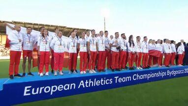 Mazurek na 54 głosy. Wyjątkowy hymn Polski w wykonaniu drużynowych mistrzów Europy