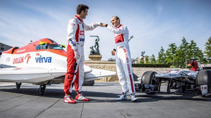 Kubica pędził bolidem po Warszawie. Nietypowy wyścig z wyjątkowej okazji