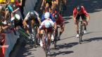 Finisz 4. etapu Tour de France 2017. Upadek Marka Cavendisha