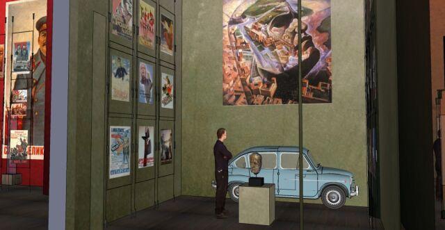 Projekt wystawy głównej Muzeum II Wojny Światowej w Gdańsku