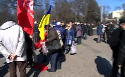 Reporter TVN24 jest w Charkowie. Udar szykuje demonstrację