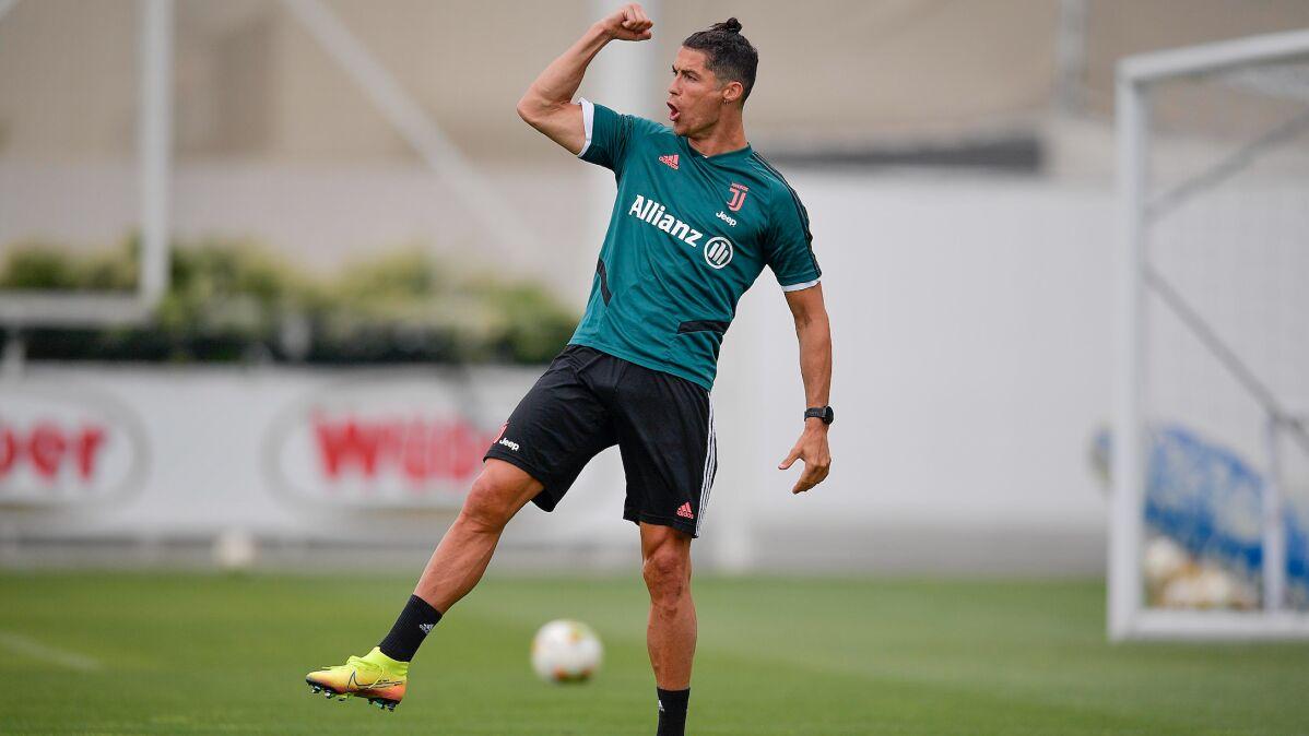 """Ronaldo zachwyca formą. """"Wszystkie parametry lepsze niż w marcu"""""""