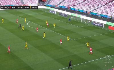 Benfica zremisowała z Tondelą w 25. kolejce ligi portugalskiej