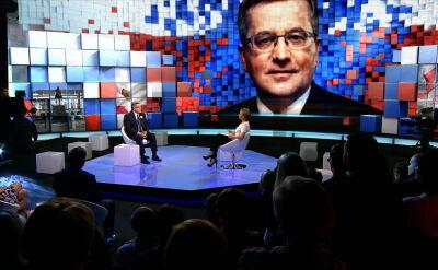 """""""Debata. Czas Decyzji"""". Bronisław Komorowski o polityce zagranicznej"""