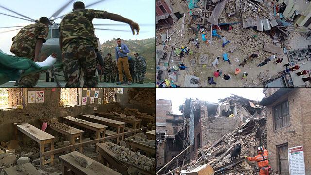 30 sekund, które odmieniło oblicze Nepalu. Kataklizm oczami wysłannika TVN24