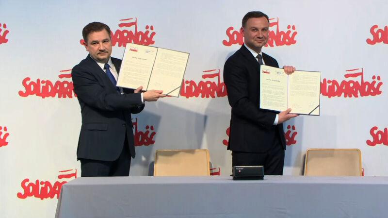 """Sojusz Dudy z Dudą. """"Solidarność"""" udzieliła poparcia kandydatowi PiS"""