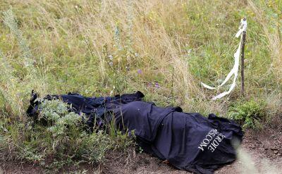 Ciała ofiar katastrofy samolotu w wagonie chłodniczym