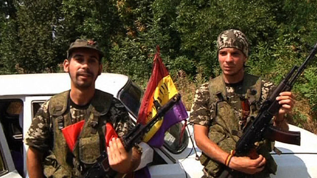 Chcą podziękować Moskwie za 1936 r. Hiszpanie w Donbasie walczą dla separatystów