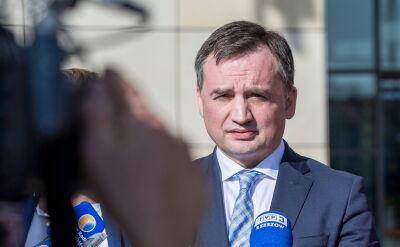 Ziobro o decyzji SN w sprawie zażalenia ZUS: to rzecz niebywała, przekroczenie uprawnień
