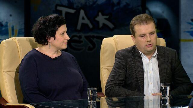 """Jacek Wilk i Diduszko-Zyglewska w """"Tak Jest"""""""