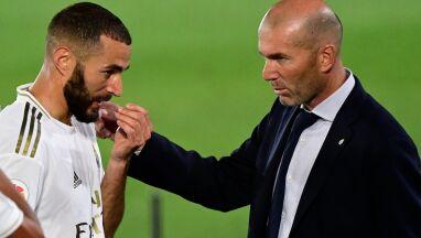 Zidane rozpływa się nad formą Benzemy.