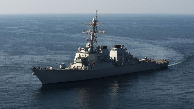 Amerykańskie okręty blisko spornych wysp. Reuters: newralgiczny moment