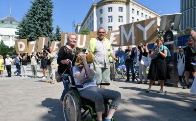 """""""Osoby z niepełnosprawnościami są silniejsze od nas. Walczą o godność"""""""