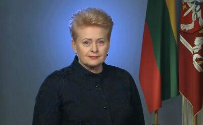 Prezydent Litwy składa życzenia Polsce