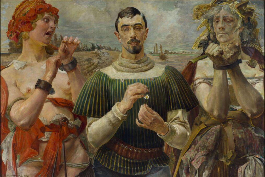 Jacek Malczewski - Hamlet polski 1903