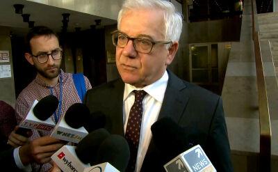 Szef MSZ: 11 listopada będę przewodził polskiej delegacji we Francji