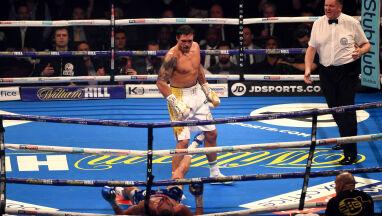 Obronił cztery tytuły. Znokautowany rywal odesłany na emeryturę