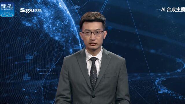Prezenter wygenerowany przez sztuczną inteligencję