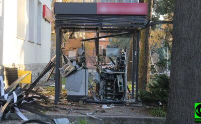 """Wysadzono bankomat. """"Skradziono część pieniędzy"""""""