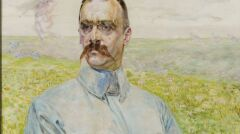"""Jacek Malczewski - """"Portret brygadiera Józefa Piłsudskiego"""""""