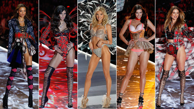 Angels in Kings. Victoria's Secret Picture and Adriana Lima's Last Look