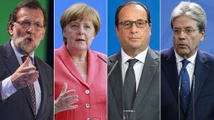 Wersalska czwórka będzie rozmawiać o Unii. Niewykluczone, że i o Tusku