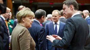 Merkel tuż przed szczytem: cieszę się na kontynuację współpracy z Tuskiem