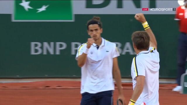 Herbert i Mahut wygrali 2. set finału gry podwójnej we French Open