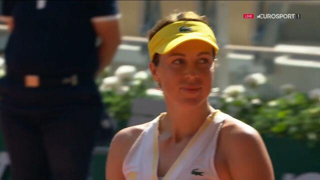 Pawluczenkowa pokonała Zidansek w półfinale French Open