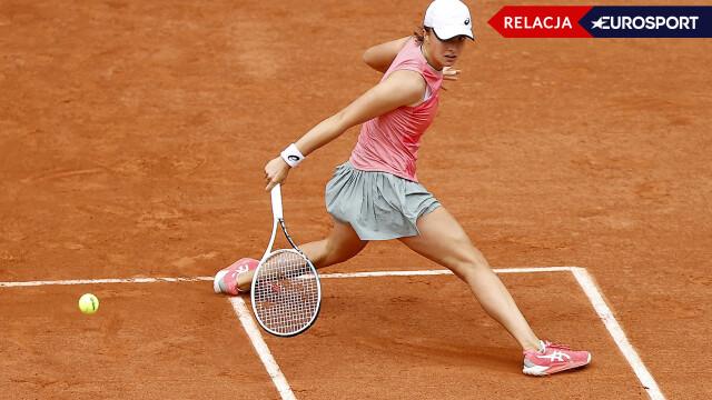 Iga Świątek - Maria Sakkari we French Open (RELACJA)