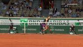 Świetna wymiana w 3. secie meczu Zverev – Tsitsipas w półfinale French Open
