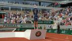 Krejcikova odebrała trofeum za wygranie French Open 2021