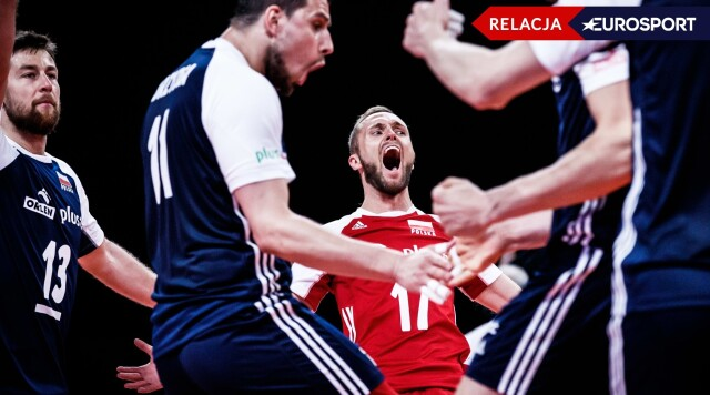 Siatkówka. Polska - Holandia: wynik na żywo i relacja live - Liga Narodów siatkarzy 2021   Eurosport w TVN24 - w Sport TVN24
