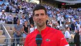 Djoković po wygraniu French Open 2021