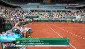 Krejcikova wygrała 1. seta w finale French Open