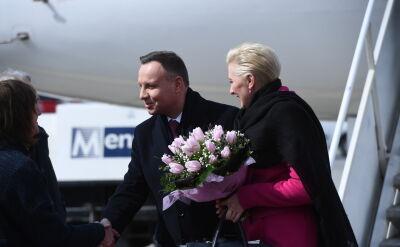 Para prezydencka z dwudniową wizytą na Węgrzech