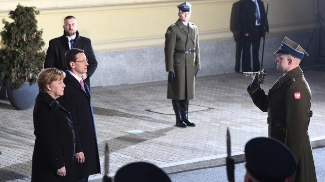 Kanclerz Merkel już w Warszawie.  Na początek rozmowa z premierem