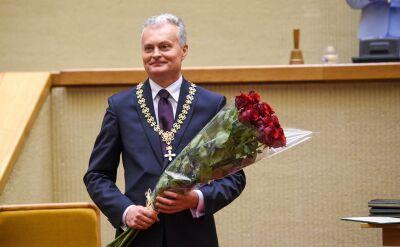 Gitanas Nauseda nowym prezydentem Litwy