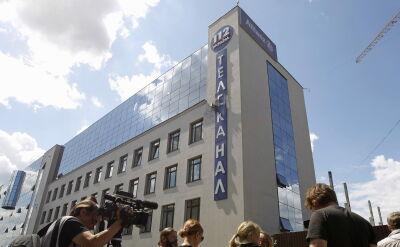 Ukraińska telewizja ostrzelana z granatnika