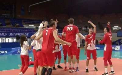 Polska pokonała Rosję w półfinale Uniwersjady