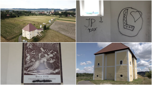 Wiadomo, kto zdewastował kapliczki Kalwarii Krzeszowskiej. Kłopoty dwóch nastolatków