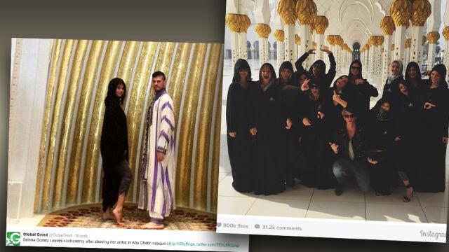 Po fotosesji w meczecie Selena Gomez w ogniu krytyki