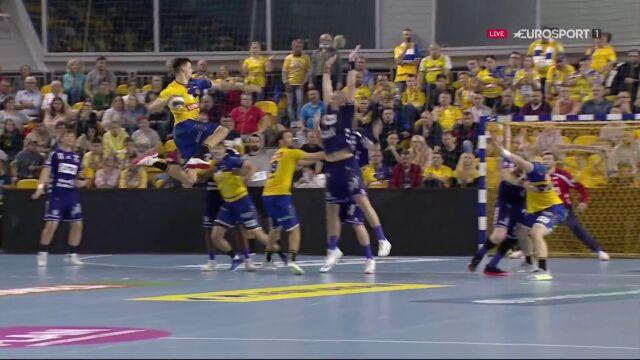 Szymon Sićko imponował skutecznością w meczu z Flensburgiem