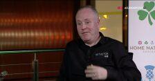 John Higgins po zwycięstwie nad Davidem Gilbertem w Northern Ireland Open