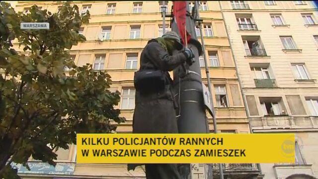 Rzecznik Policji o sytuacji w Warszawie i delegalizacji Marszu/TVn24