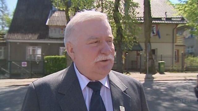 Wypowiedź Lecha Wałęsy z maja 2009 roku (TVN24)
